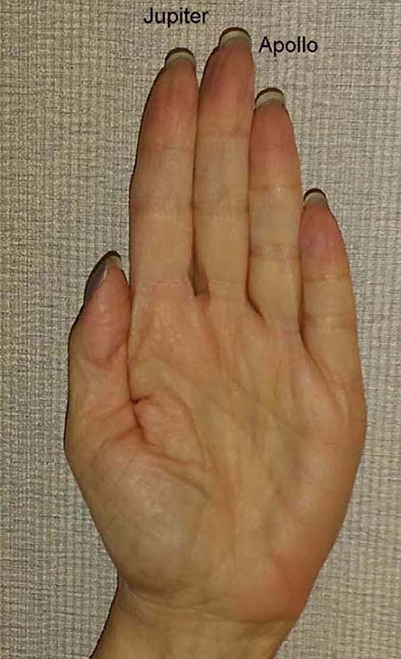 Palmistry and Sexual Behavior