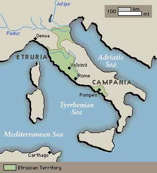 Were the romans originally called latins