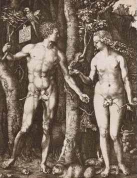 《亚当vs夏娃》  传遍世界各地的传说 - 牧泥 - 土里巴人