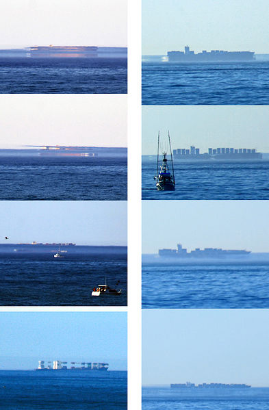 Disappearing Ships The Flying Dutchman Fata Morgana