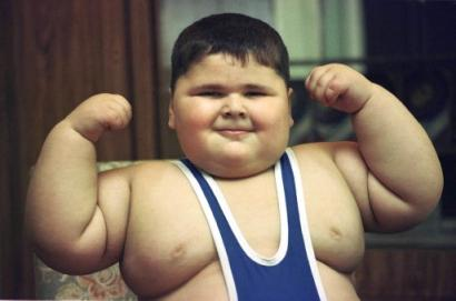 funny obese child