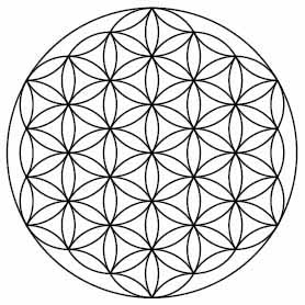 The Flower of Life.