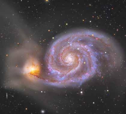 nasa whirlpool galaxy - photo #19