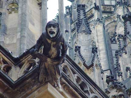 Many Medieval Cathedrals Included Gargoyles And Chimeras The Most Famous Examples Are Those Of Notre Dame De Paris Although Have Grotesque Features