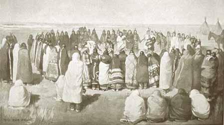 Paiute - Ghost Dancers Wovoka