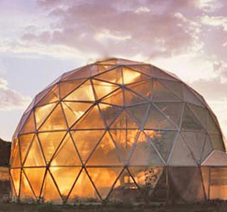 Sacred spaces buying a home city life - The geodesic dome in connecticut call of earth ...