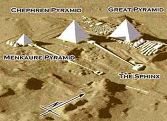 Sphinx Facts Body Breastplate Schematics Tunnels Chambers - Map of egypt pyramids and sphinx