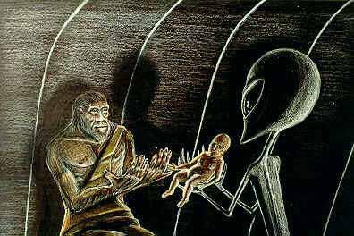 Ancient Astronauts Graybabycaveman