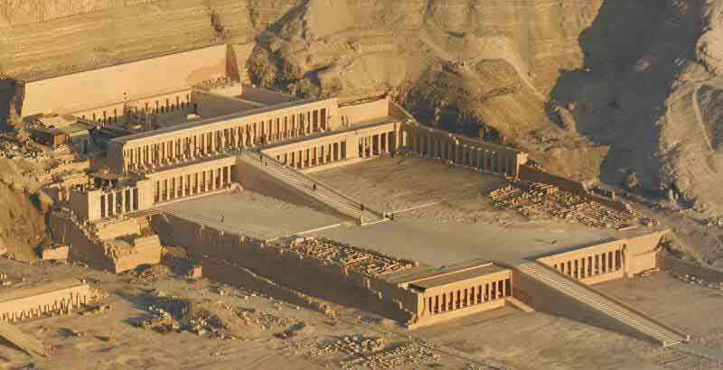 Temple of Hatshepsut - Crystalinks