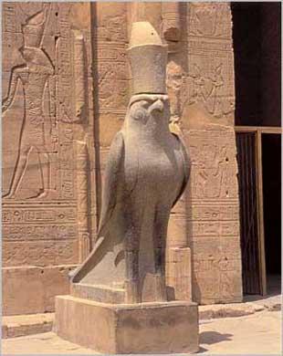 Horus  Ra Statue