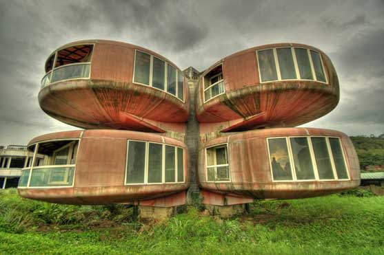 Pleasing Weird Houses Around The World Largest Home Design Picture Inspirations Pitcheantrous
