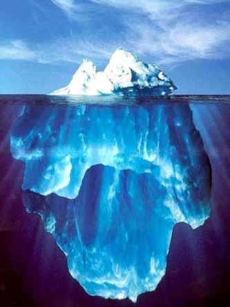 Ice Age? Icebergblue