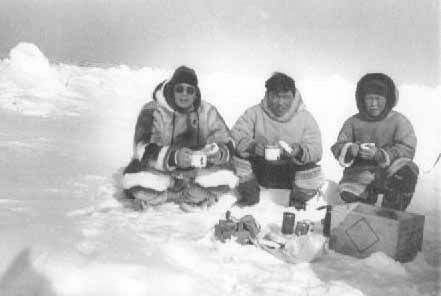 Inuit crystalinks for Alaskan cuisine history