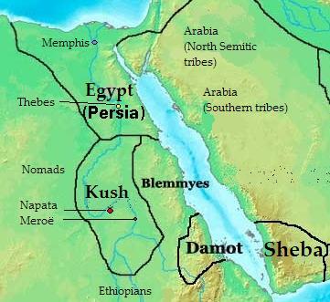 Nubia Kerma Kush Meroe Black Pharaohs Crystalinks - Map of ancient egypt kush and israel