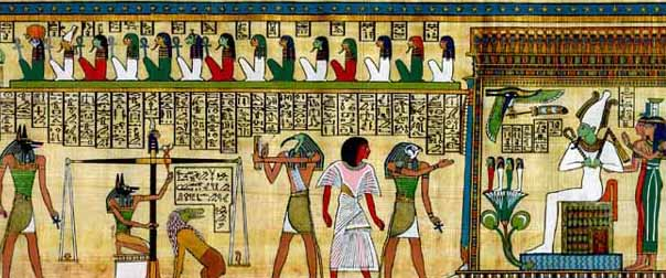 Osiris and Isis, rulers of the Underworld: The Duat and the Amenti