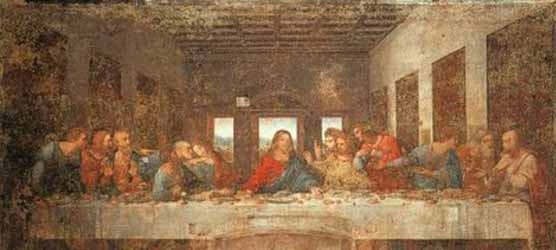 13 people at the last supper 12 disciples around jesus for 13th floor superstition history