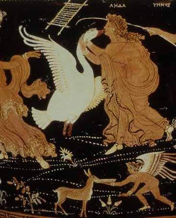 Leda and the Swan Zeus