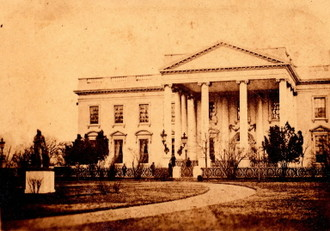 A Collector Believes Photograph From Private Album Of Civil War Gen Ulysses S Grant Shows President Abraham Lincoln In Front The White House And