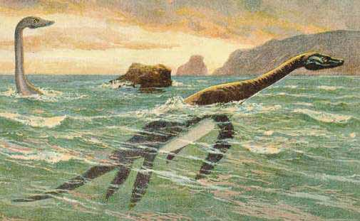 A View Of The Loch Ness Monster Near Inverness Scotland April 19
