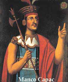 Manco on Pachacuti Inca