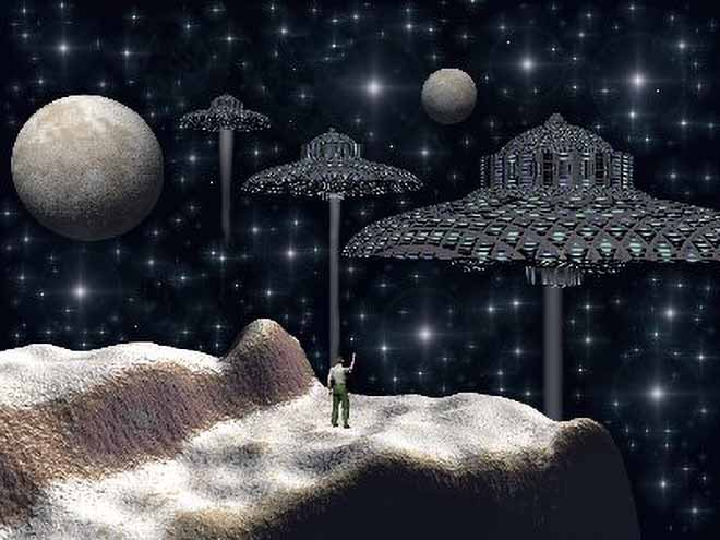 Extraterrestrials and UFO'S Manspacerockufo
