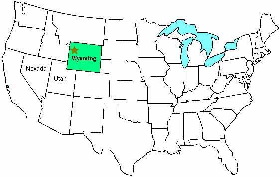 Yellowstone National Park World Map JOYP - Yellowstone us map