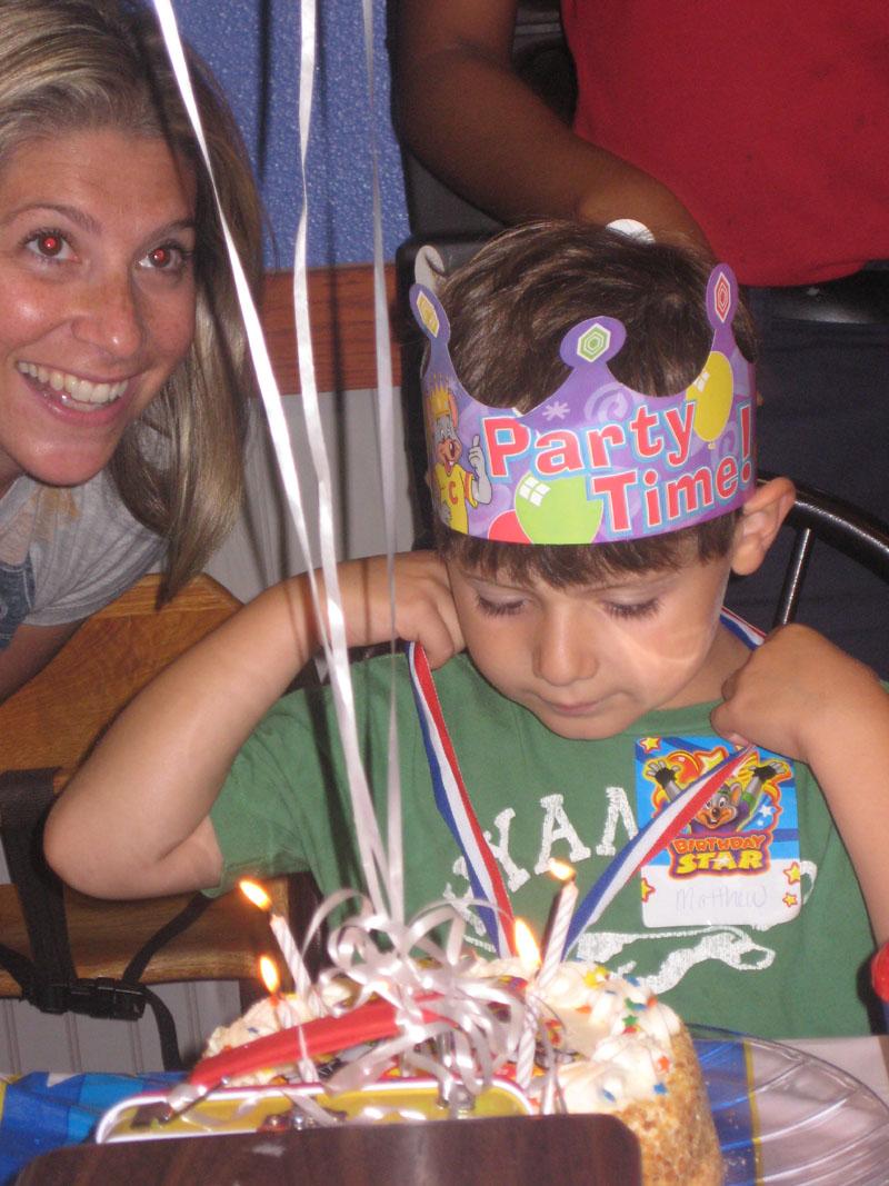 Chuck E Cheese Birthday Party Cake