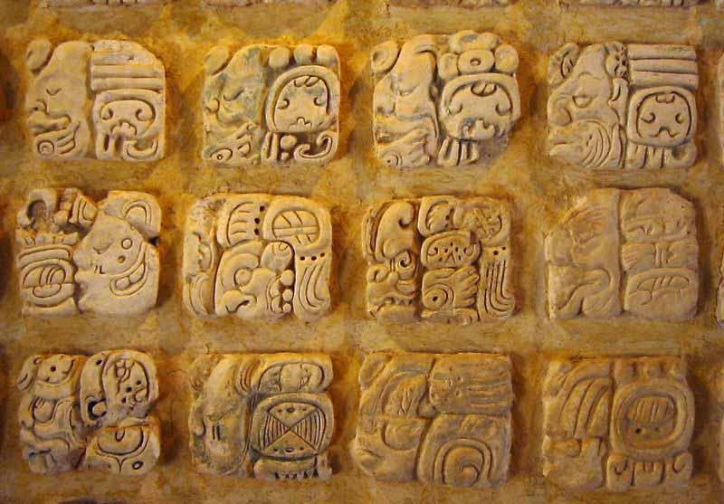 Mayan Script - Crystalinks