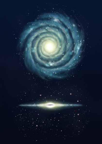 Sensational Milky Way Galaxy Crystalinks Hairstyles For Women Draintrainus