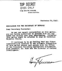 Majestic 12, Project Grudge, Project Bluebook, Trilateral ...