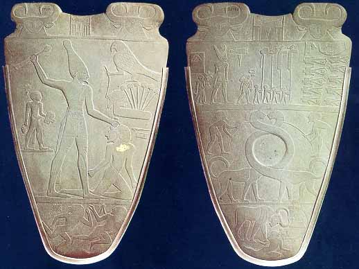 an analysis of ancient egyptian king narmers palette Narmer palettecommemorationthe narmer palette commemorated king narmer's victory over ten enemies of egypt some time during dynasty 0 (3200–3100 bce) though scholars disagree on the.