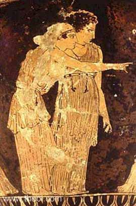 Details About Bronzed Nemesis Greek Goddess Of Retribution