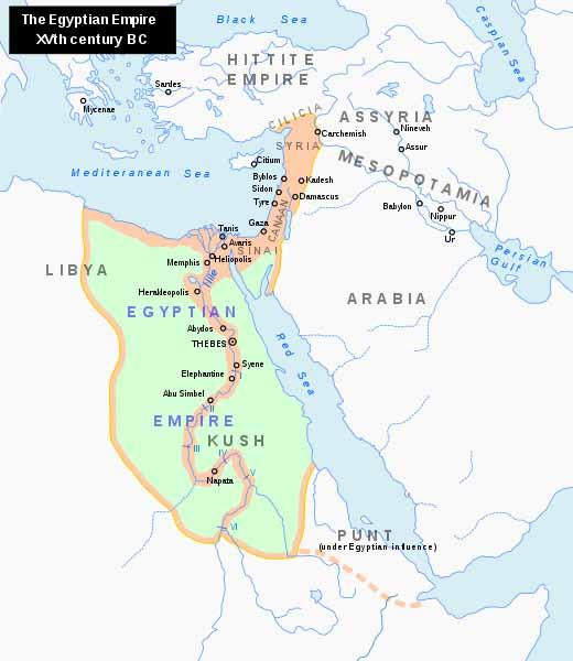 New Kingdom Of Egypt Crystalinks