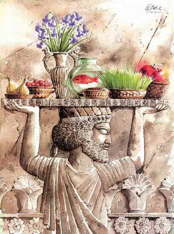 Nowruz - Iranian New Year عيد الأم