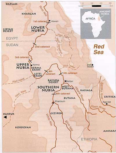 Nubia Kerma Kush Meroe Black Pharaohs Crystalinks - Map of ancient egypt first cataract