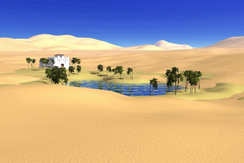 World Water Day 2013, Oasis, Terraforming a Planet, Creation Oasis Geography