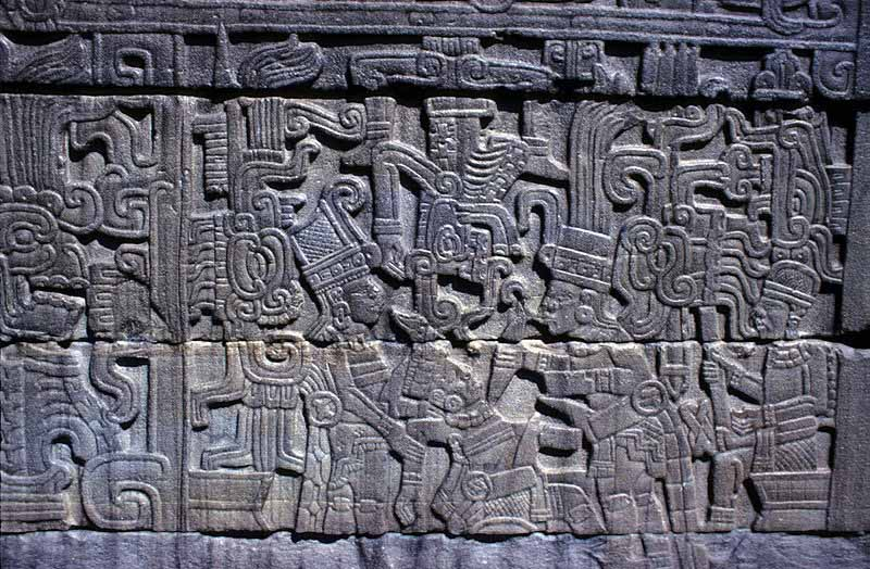 Olmec civilization crystalinks for Aztec mural painting