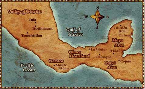 Olmec People The Olmec heartland is an area