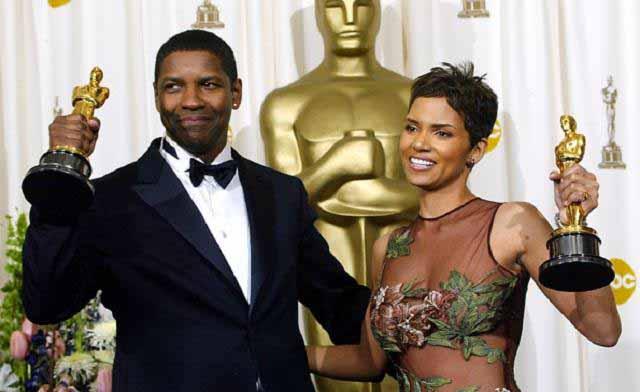 Basic Black: Oscar Goes to Halle Berry and Denzel Washington