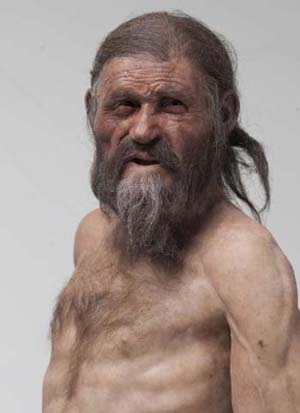 Homo male in nature s garb medical examination