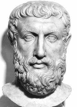 parmenides greek philosopher crystalinks