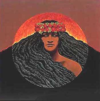 Pele - Hawaiian Goddess of Volcanoes