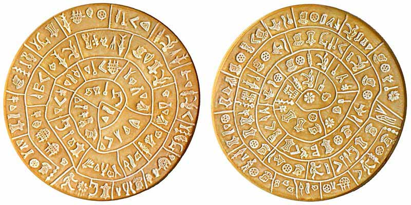 Image result for phaistos disk