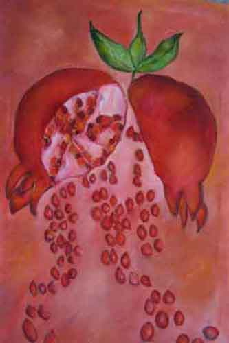the symbolism of pomegranate seeds in homers hymn to demeter