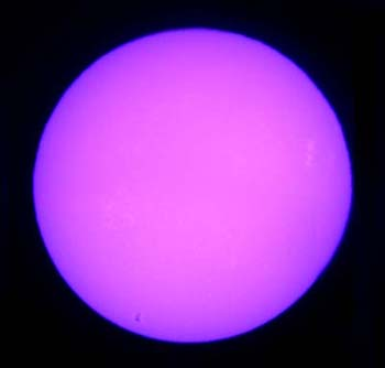 The Color Purple Purple Sun Perception Of Higher Frequency Colors