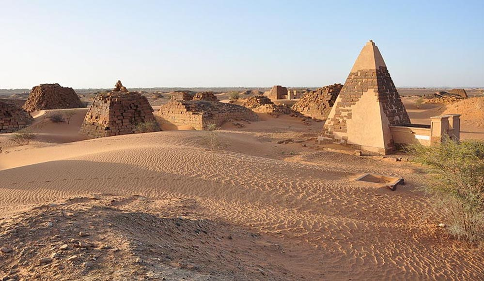 Nubia Kerma Kush Meroe Black Pharaohs Crystalinks - Map of egypt before the sands