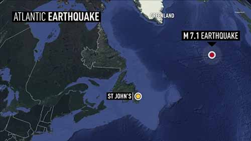 Earthquakes in the news crystalinks 71 magnitude earthquake hits north atlantic ocean cbc february 14 2015 gumiabroncs Choice Image