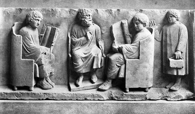 Education in Ancient Roman - Crystalinks