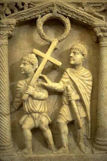 roman barbarians and christians essay Barbarian breakthrough who were the barbarians and why did they invade roman lands most barbarians professed christianity.