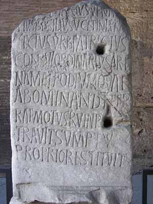 Ancient Roman Language and Scripts - Crystalinks